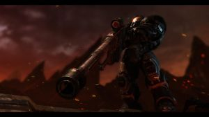 Raynor's Rifle by Shreas