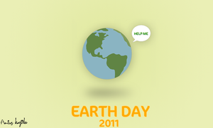 Earth day 2011 by Aminebjd