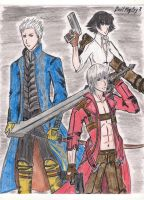 Devil May Cry 3 by Cashopeia