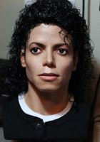 Michael Jackson Bad lifesize bust 1/1 angle 2 pic by godaiking