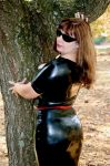 A little latex outside by Indy-photo