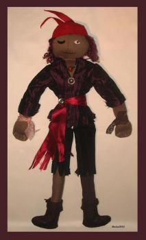 Undead Pirate by plushie-fans