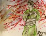 Aph Japan in Traditional Japanese Painting by abreesey