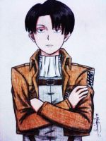 Rivaille Levi by fullmetaledward01
