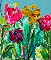 spring Flowers  LProctor by LaurieLefebvre