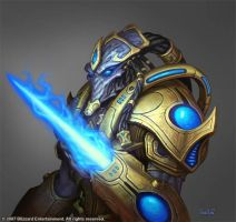Protoss Zealot by Arsenal21