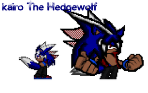 Kairo The Hedgewolf by Xx-ApocalypseHeartxX