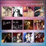 2012 Art Summary by Arya-Aiedail