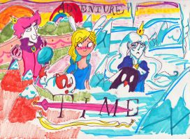 Adventure Time by cartoonist66