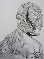 Rey Mysterio by VinceArt