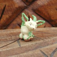 Mini Leafeon Sculpture by LeiliaClay