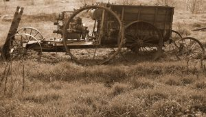 Gears and Equipment in Sepia by AskGriff