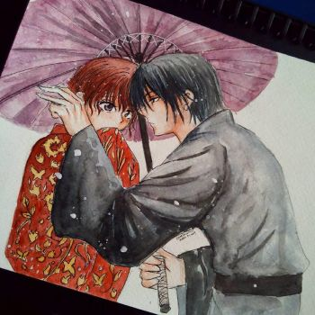Hak X Yona by Cane-the-artist