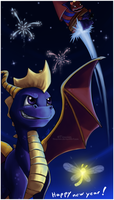 Fireworks by Tinuvion
