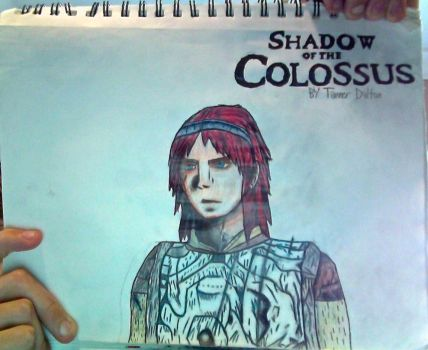 Wander + S. of theColossus logo drawing(Unflipped) by TannMann64