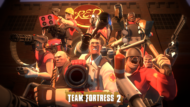 Team FORTRESS by Cpt-Sourcebird