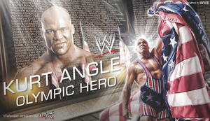 New Kurt Angle WWE Wallpaper by TheElectrifyingOneHD