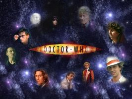 The Ten Faces of the Doctor by Darthkoolguy