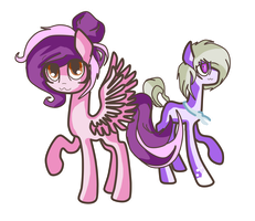 Golden Fly and poni by nihhal
