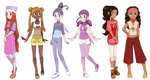 Pokemon Princesses 11 by Hapuriainen