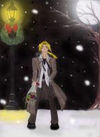 Edward Elric in the Snow by TwilightAlchemistX16