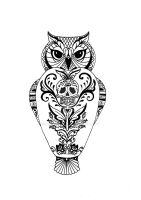 owl tatwo by LuNoRokkR