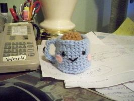 Amigurumi Coffee by pixie--stick