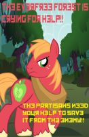 Join the Partisans, and save Everfree forest by RageRex