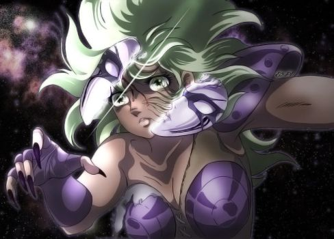 Saint Seiya - Shaina unmasked - Final by Iso-pI