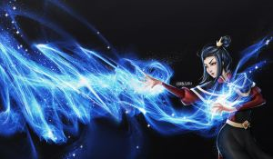 Azula Fan Art by infinitydevin