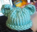 Baby Hat With Ears by shushucraft