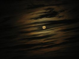 Cloudy moon by Midnight-Green