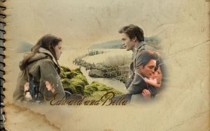 Edward and Bella by artistiquegirl