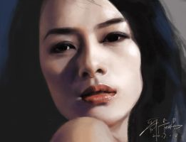 Zhang Ziyi by buriedflowers