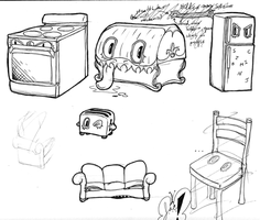 Mimic - Forms - Sketches by AngelicDirt