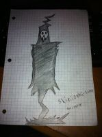 My Drawing Of Lord Death. by Novaprime12