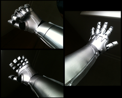 Automail Hand and Forearm by CosmicalFox