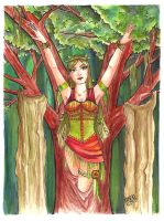 Bright Dryad by delightedmuse