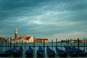 Venice Evening by rachelarandilla