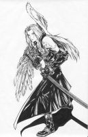 Sephiroth by bascioiii