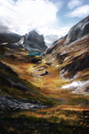 Study - Mountains by Lap12
