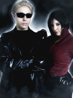 Wesker and Ada by ladykobra