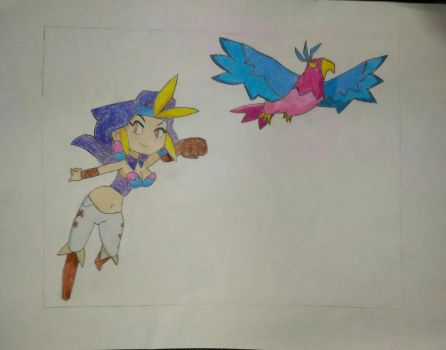 Take to the Skies with Sky (Shantae) by Mario9919