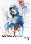 Captain America by Spydi-mel