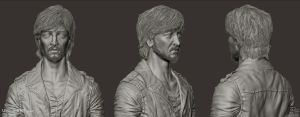 Uncharted - Atoq Navarro Sculpt Sheet by Rhythem02