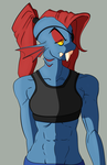 Undyne by Ookami-95