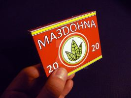 Bordurian Cigarettes Replica by engineerJR