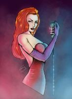 Jessica Rabbit by SNIPERJOY