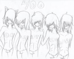 400 devi sketch by chippen202