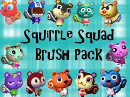 Squirrel Squad brush pack by Static-Zap